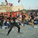 Irak: un manifestant tué à Nassiriya, des camps de protestataires incendiés