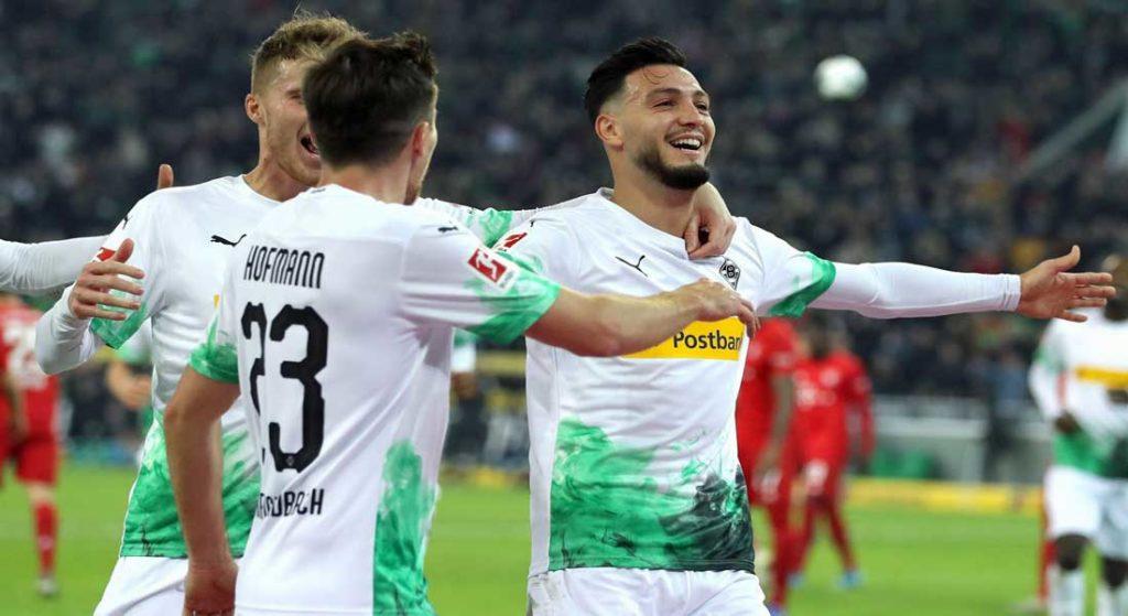 Le but de Ramy Bensebaini face à Dortmund