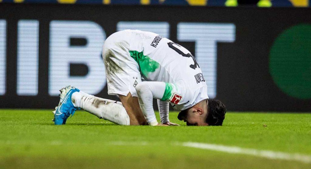 Bensebaïni buteur et passeur décisif face à L'Eintracht de Francfort