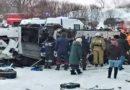 Sibérie : un bus chute dans une rivière gelée, 19 morts