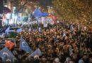 Turquie : Protestation contre la répression exercée par la Chine contre les musulmans ouïghours