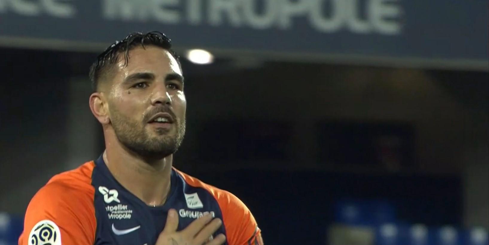 Andy Delort : Buteur contre Lille