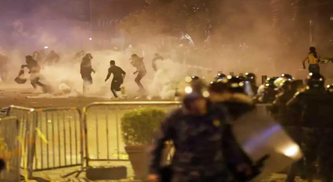 Contestation au Liban: Plus de 145 blessés lors de la deuxième journée de violence