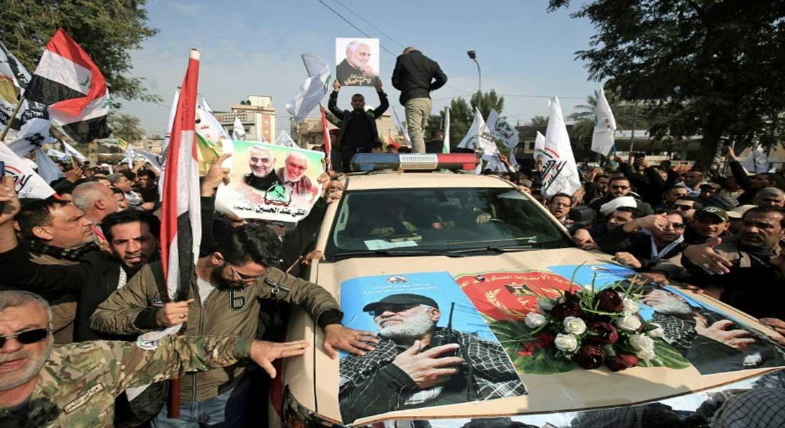 Des dizaines de milliers d'Irakiens ont participé aux obsèques du général Soleimani tué par Washington