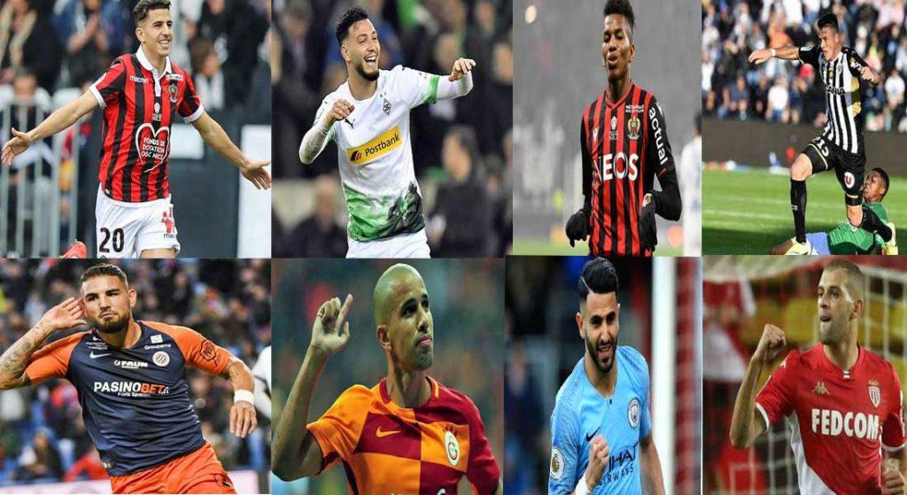 Les buts des internationaux algériens en saison 2020-2021