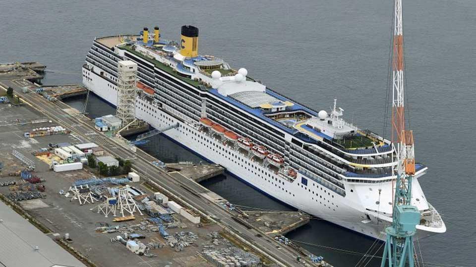 Coronavirus: Près de 50 cas de contamination dans un navire de croisière italien à quai au Japon