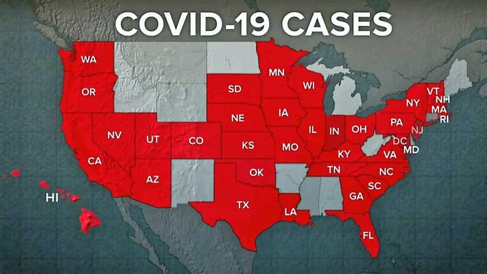 Covid-19 : Plus de 145959 nouveaux cas de plus en 24 h et l'Espagne dépasse les 50 000 morts