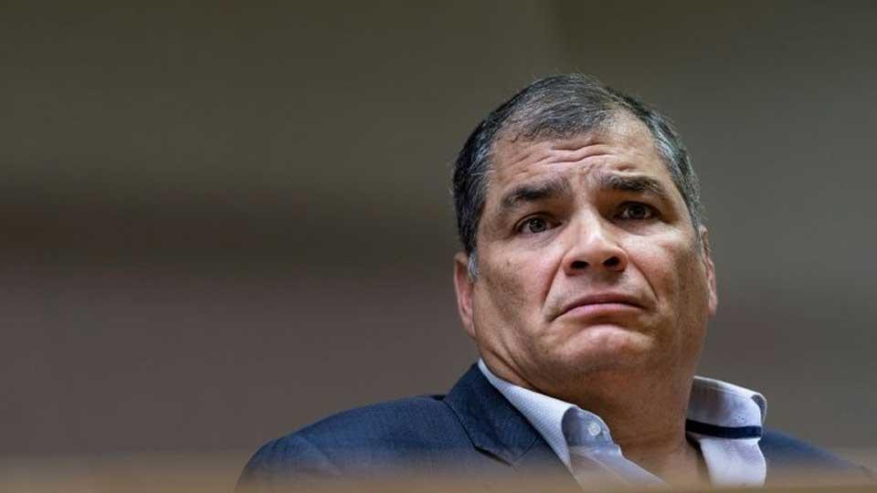 Equateur: l'ex-président Correa condamné à huit ans pour corruption
