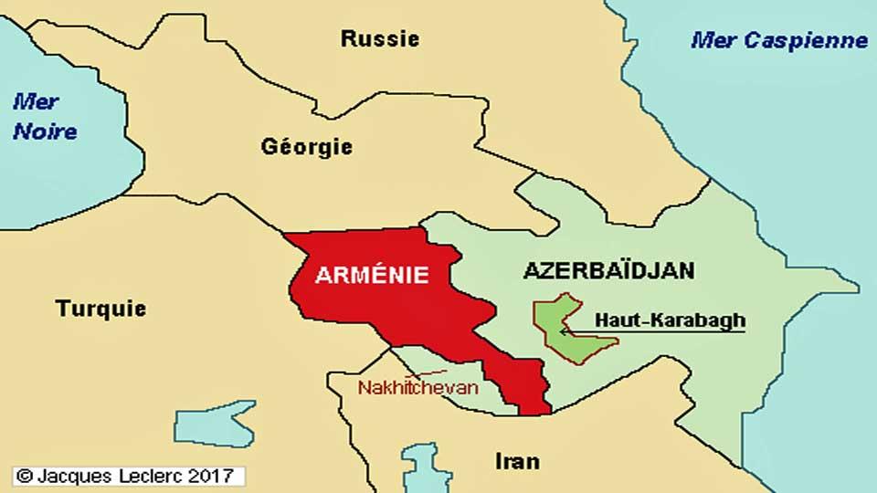 Haut-Karabakh : Le président Ilham Aliyev qui exige un retrait total des combattants pro-arméniens