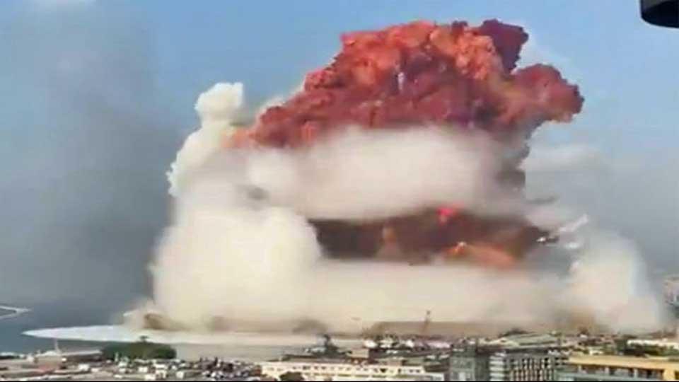 Beyrouth : Plus de 100 morts et des milliers de blessés ( vidéo des explosions)