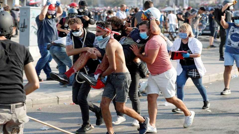 Liban: Des heurts entre manifestants et forces de l'ordre à Tripoli