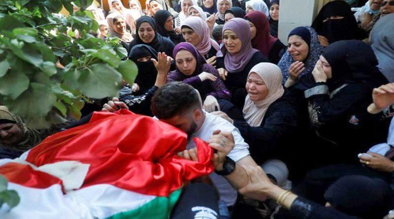 Palestine : Une jeune Palestinienne de 23 ans abattu par le Tshal