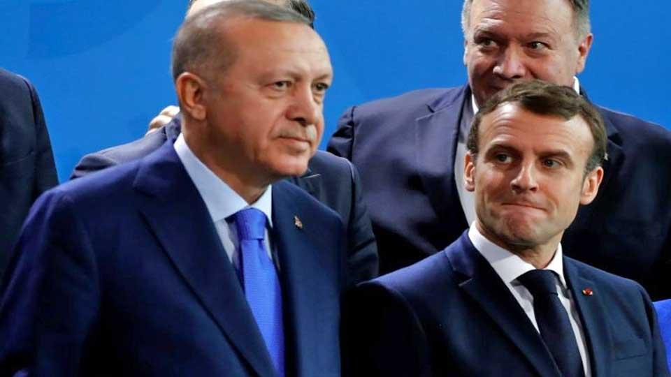 Erdogan Macron