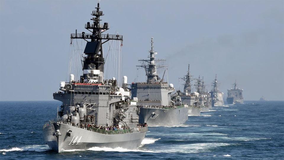 Le japon lance des exercices anti-sous-marins en mer de Chine méridionale