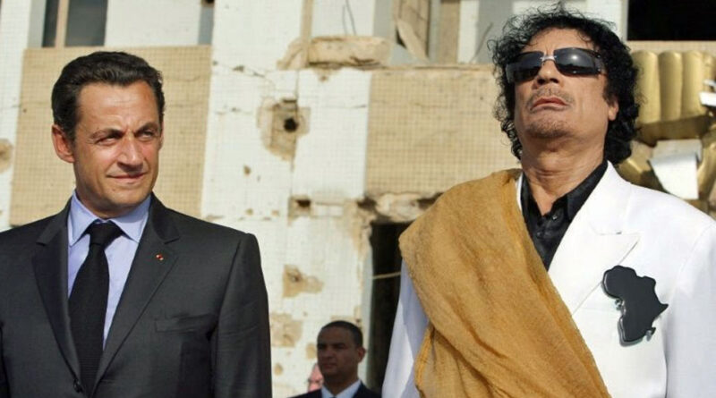 khadafi sarkozy