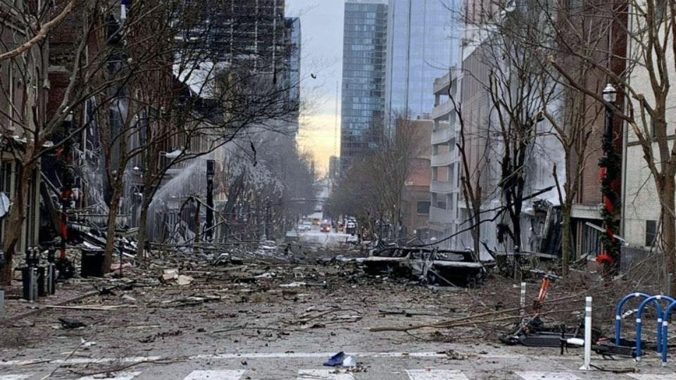 USA : l'auteur de l'explosion de Nashville est mort dans la déflagration