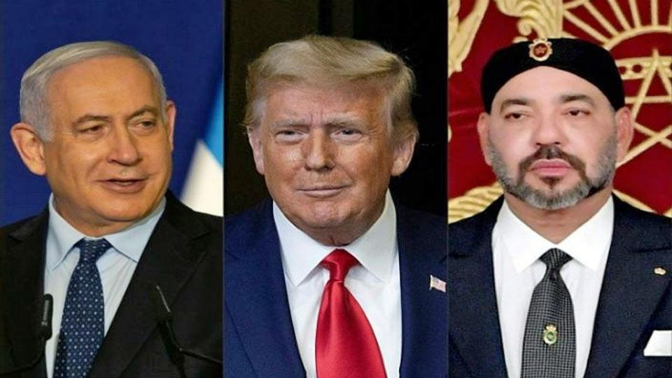 Palestine : Trump annonce un rapprochement entre le Makhzen et l'état Sioniste