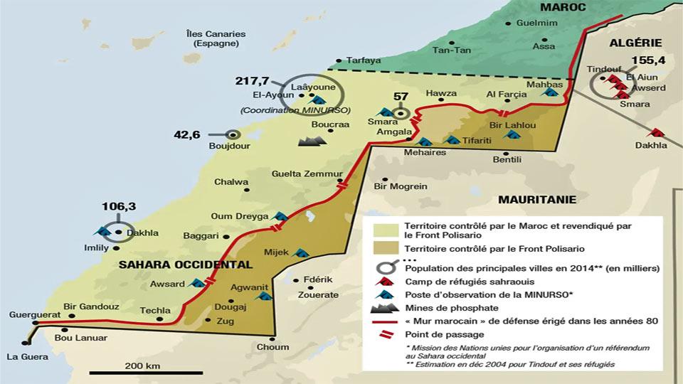 Sahara occidental: Alger dénonce le marchandage du Mekhzen sur un territoire qui est sous la loupe du droit international