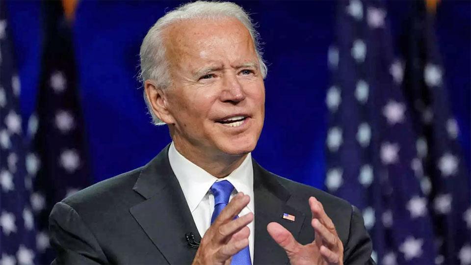 Joe Biden célèbre la victoire de la démocratie après sa prestation de serment en tant que 46e président des USA