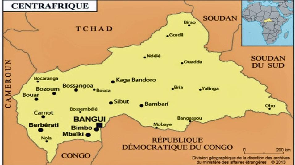 Centrafrique: les Casques bleus chassent les rebelles d'une ville occupée