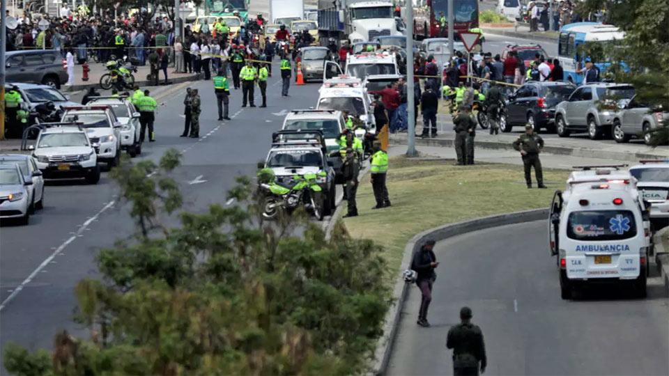 Colombie: Plus de 43 blessés dans un attentat à la voiture piégée