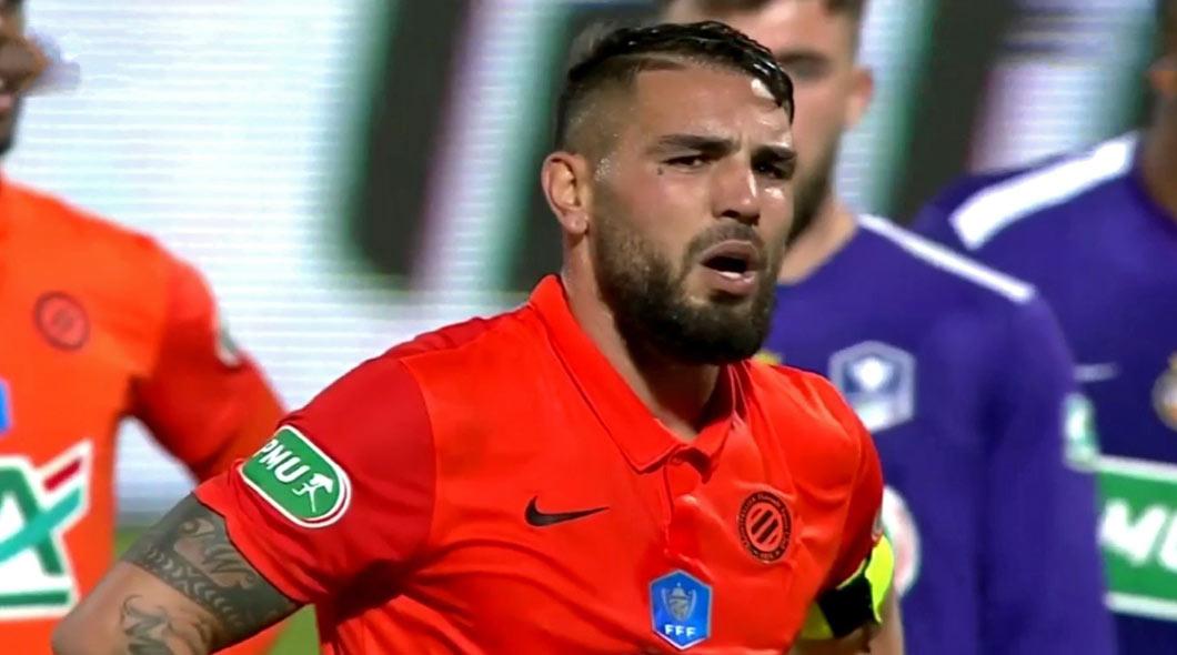 Coupe de France : Un doublé de Andy Delort envoie Montpellier en demi-finale