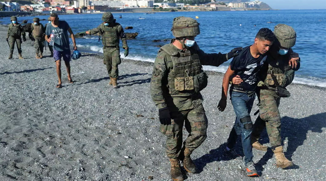 Ceuta: L'Espagne accuse le Maroc de chantage et de passivité face aux flux de migrants