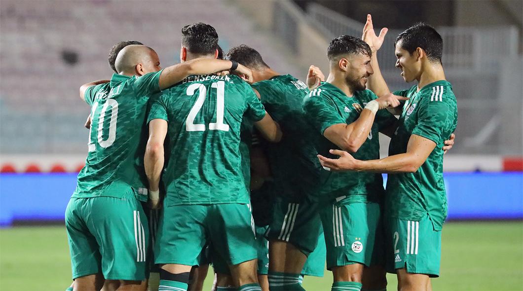 L'Algérie domine la Tunisie (2-0) à Tunis et bat le record africain d'invincibilité